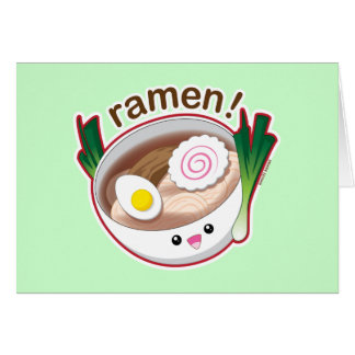 Ramen! Card