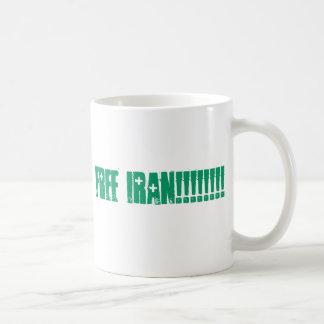 ramen, FREE IRAN!!!!!!!!!! Coffee Mug