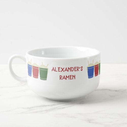 Ramen Noodle Cups Custom Message Personalized