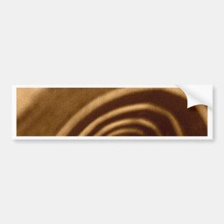 Ramen Noodle Gas Mask Bumper Sticker