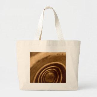 Ramen Noodle Gas Mask Large Tote Bag