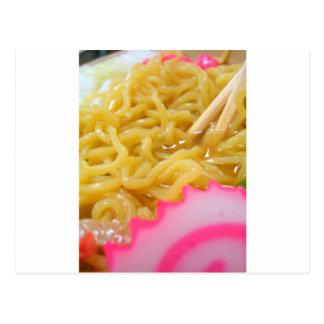 Ramen Noodles Postcard