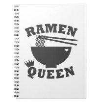 Ramen Queen Notebook