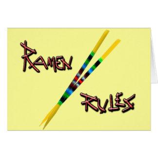 Ramen Rules Card