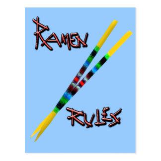Ramen Rules Postcard