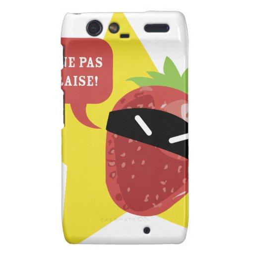 Ramène pas ta fraise !! © Les Hameçons Cibles Droid RAZR Case