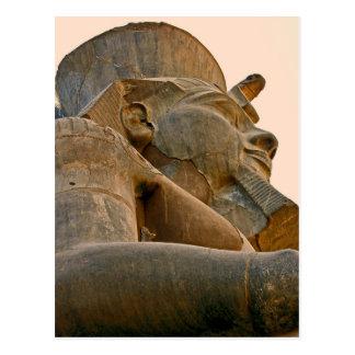 Ramesses at Luxor, Egypt (2) Postcard