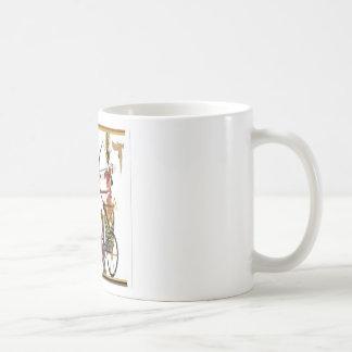 Ramesses design classic white coffee mug
