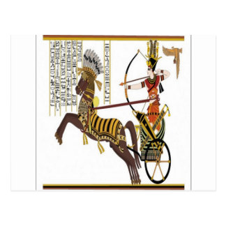 Ramesses design postcard