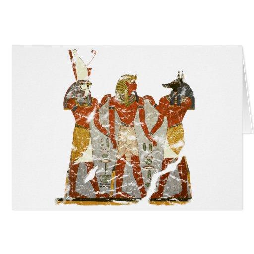 Ramesses,horus,anubus Card