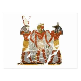 Ramesses,horus,anubus Postcard