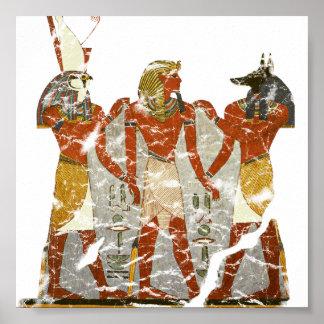Ramesses,horus,anubus Poster