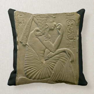 Ramesses II (1279-1213 A.C.) como niño, nuevo rein Cojin