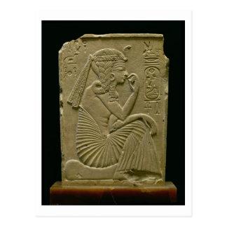 Ramesses II (1279-1213 A.C.) como niño, nuevo rein Tarjeta Postal