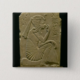 Ramesses II (1279-1213 BC) as a child, New Kingdom Pinback Button