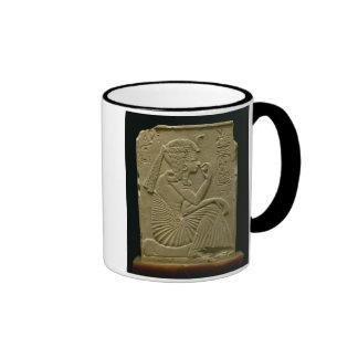 Ramesses II (1279-1213 BC) as a child, New Kingdom Ringer Coffee Mug