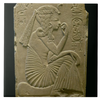 Ramesses II (1279-1213 BC) as a child, New Kingdom Tile