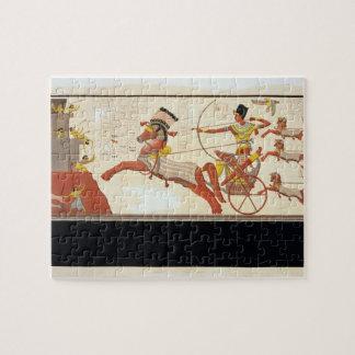 Ramesses II (1279-13 BC) at the Battle of Kadesh, Jigsaw Puzzle