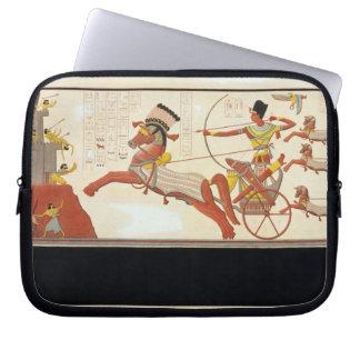 Ramesses II (1279-13 BC) at the Battle of Kadesh, Laptop Sleeve