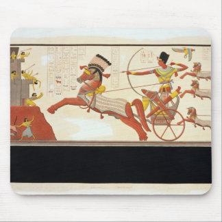 Ramesses II (1279-13 BC) at the Battle of Kadesh, Mouse Pad