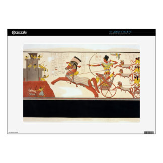 """Ramesses II (1279-13 BC) at the Battle of Kadesh, Skin For 15"""" Laptop"""