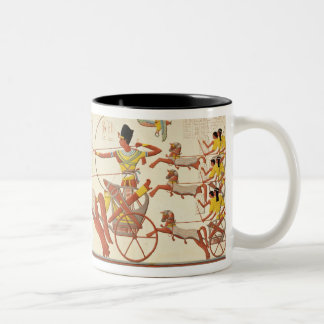 Ramesses II (1279-13 BC) at the Battle of Kadesh, Two-Tone Coffee Mug