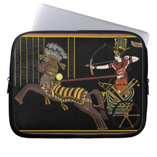 Ramesses II Battle of Kadesh Ancient Egypt Art Computer Sleeve