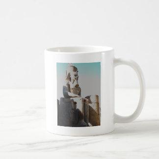 Ramesses II Colossus - Luxor Temple Classic White Coffee Mug