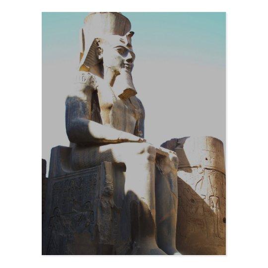 Ramesses II Colossus - Luxor Temple Postcard