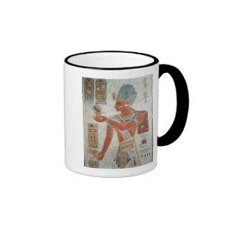 Ramesses II: Dressed for War Ringer Coffee Mug