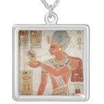 Ramesses III en vestido de batalla Colgante Cuadrado