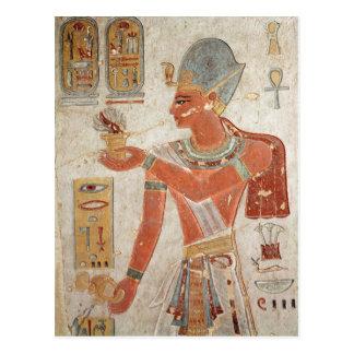 Ramesses III  in battle dress Postcard