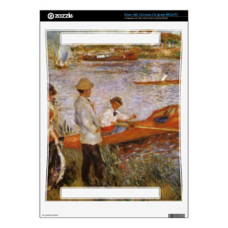 Rameurs a Chatou 1879 by Edouard Manet Xbox 360 Console Decal