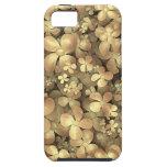 Ramilletes de oro iPhone 5 cobertura