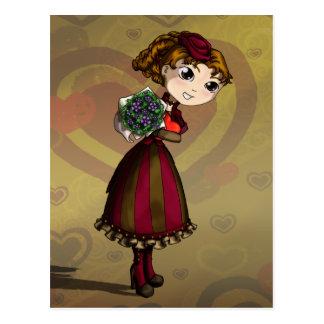 Ramilletes y chocolates postales