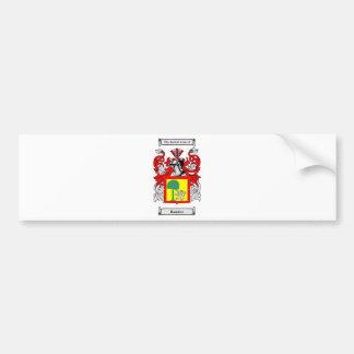 Ramirez Coat of Arms Bumper Sticker