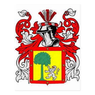 Ramirez Coat of Arms Postcard