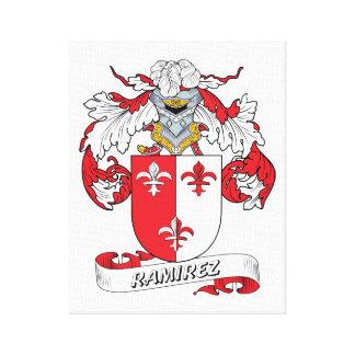 Ramirez Family Crest Canvas Print