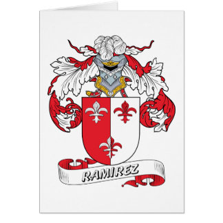 Ramirez Family Crest Card