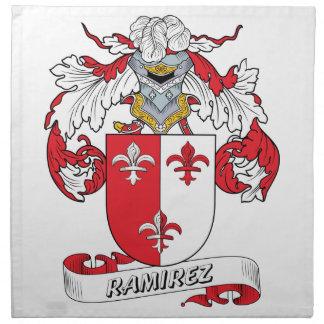 Ramirez Family Crest Cloth Napkin