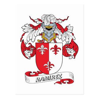 Ramirez Family Crest Postcard