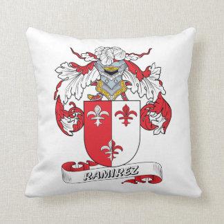 Ramirez Family Crest Throw Pillow
