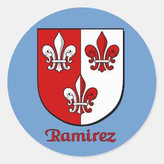 Ramirez Family Shield Stickers