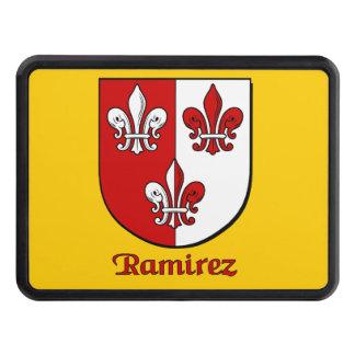 Ramirez Family Shield Tow Hitch Covers