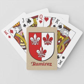 Ramirez Heraldic Shield Poker Deck