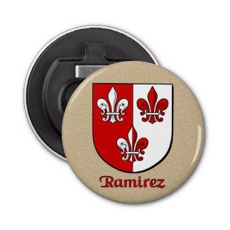 Ramirez Historical Arms Shield Bottle Opener