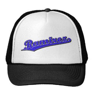 Ramirez in Blue Trucker Hat