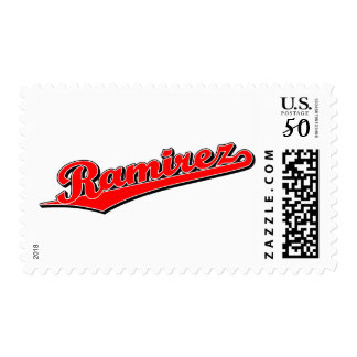 Ramirez in Red Postage