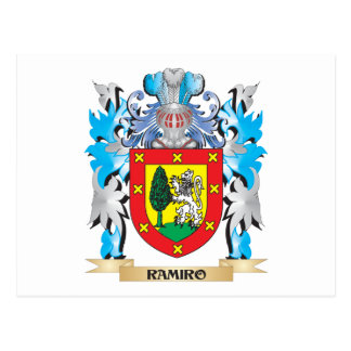 Ramiro Coat of Arms - Family Crest Postcard