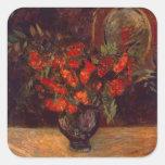 Ramo, 1884 pegatina cuadrada